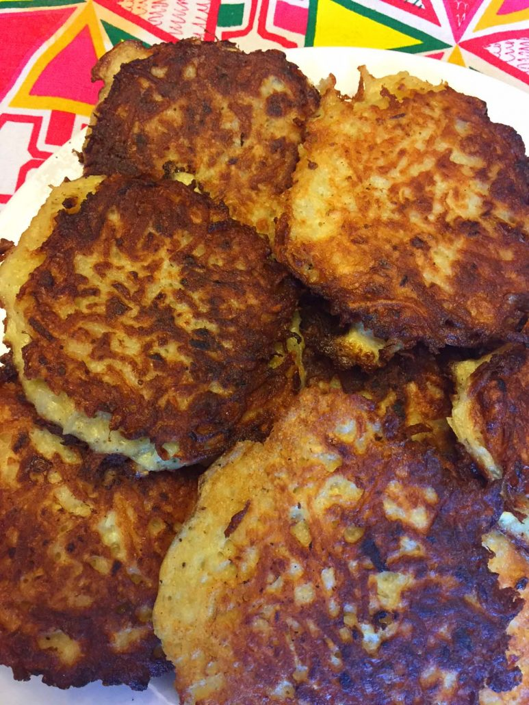 Authentic Jewish Latkes Potato Pancakes Recipe