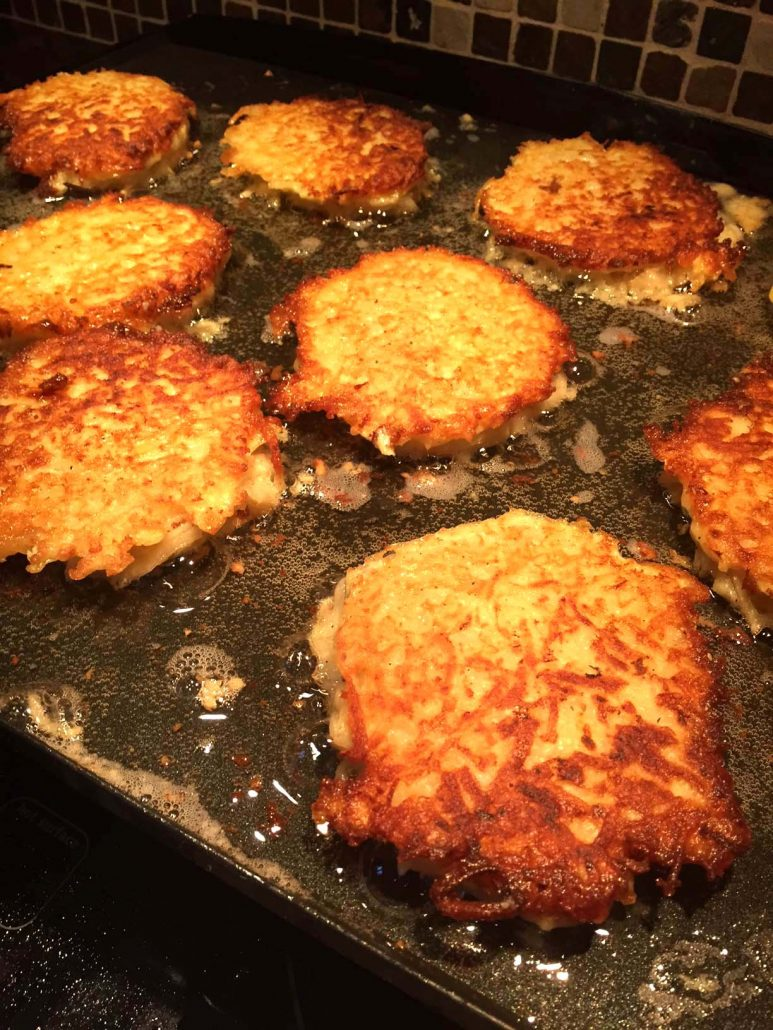 Homemade potato pancakes recipe authentic jewish latkes best ever how to make homemade potato pancakes ccuart Image collections