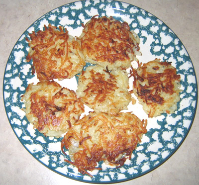 how to make potato pancakes latkes recipe