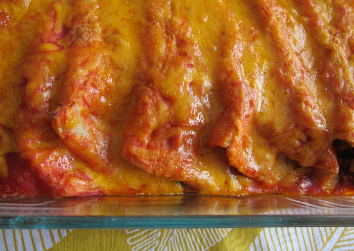 how to make beef enchiladas