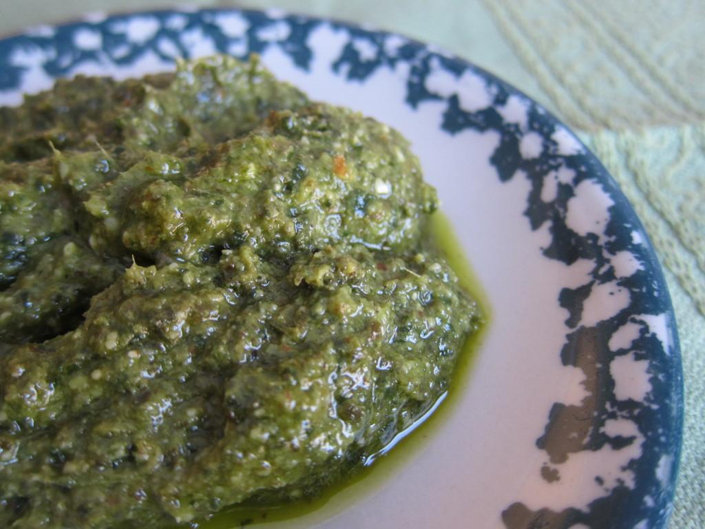 Homemade Basil Pesto Recipe