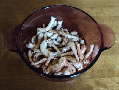 shiitake-stems
