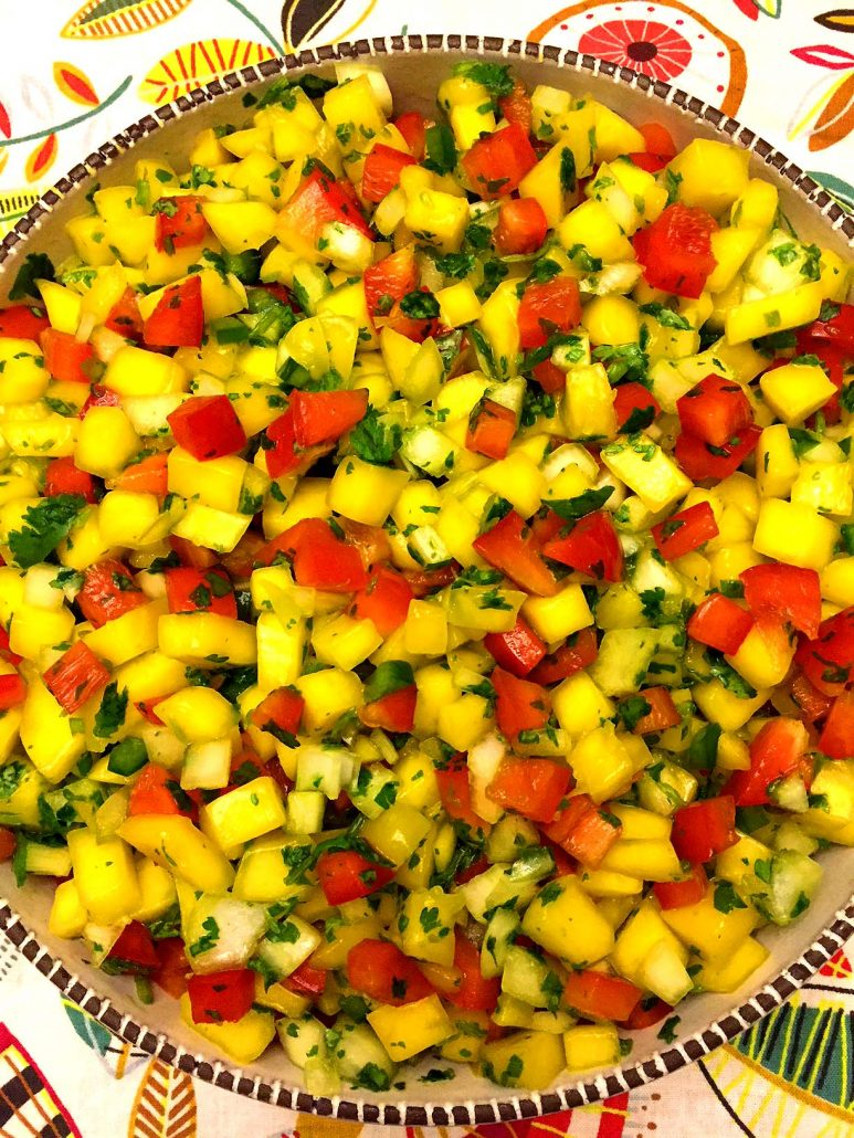Easy Homemade Mango Salsa