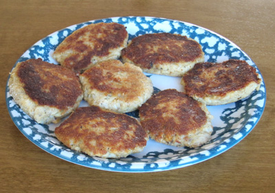 Canned Salmon Fishcakes Recipe