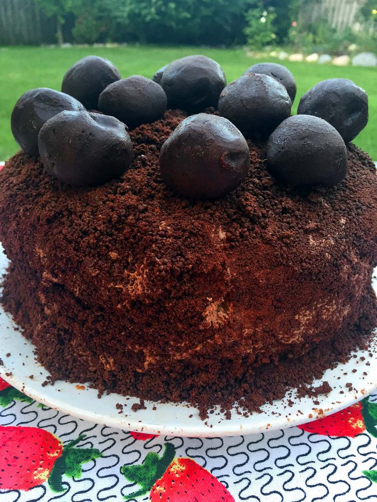 Homemade Chocolate Truffle Cake Recipe – Melanie Cooks