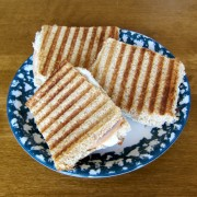 turkey and cheese panini sandwich