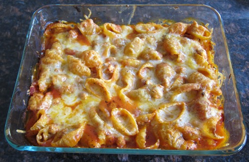 How To Make Baked Pasta Shells Casserole
