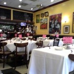 inside Cafe Central restaurant in Highland Park, Chicago suburb