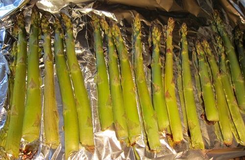 ready roasted asparagus