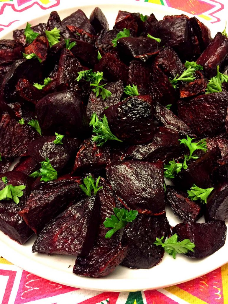 Oven Baked Beets