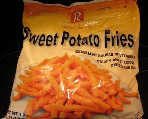 frozen sweet potato fries