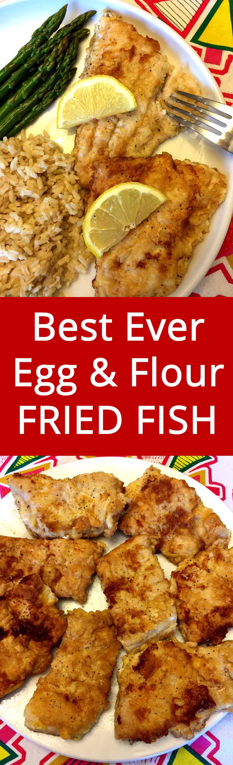 Pan Fried Fish Coated In Egg And Flour Recipe Melanie Cooks
