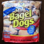 package of mini bagel dogs from costco