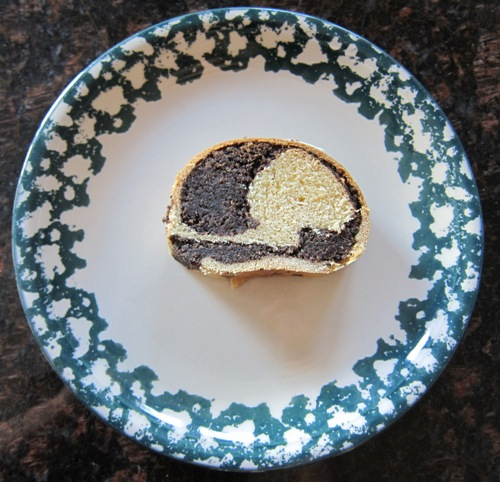 poppy seed roll slice