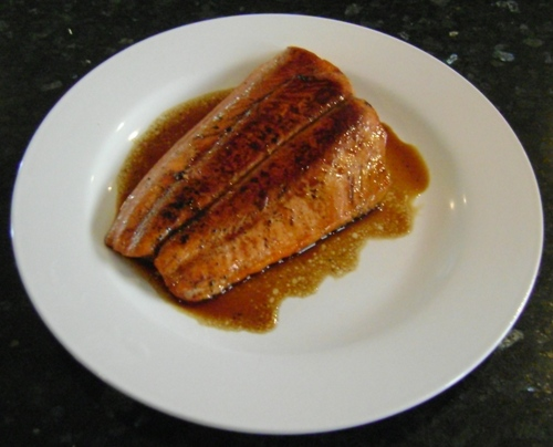 how to make salmon teryaki recipe