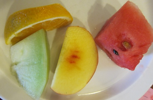 senoya fruit plate
