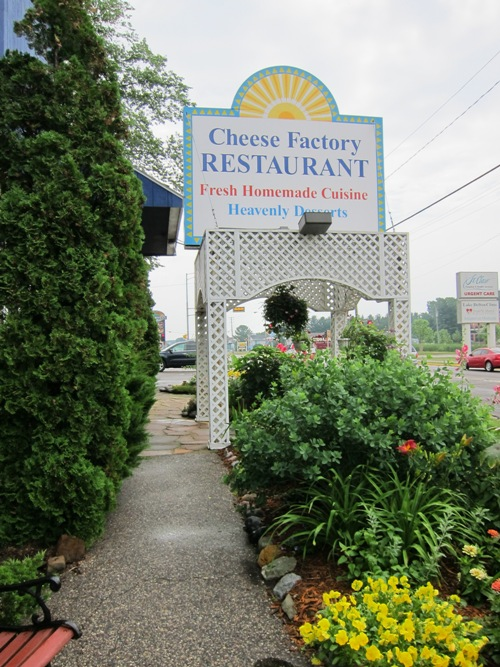 the cheese factory restaurant - street view