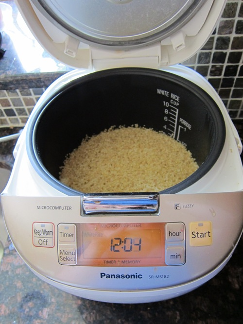 how to cook quinoa in a rice cooker
