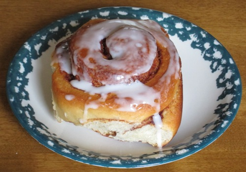 cinnamon rolls made using bread machine