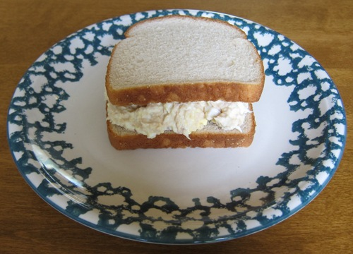 tuna salad sandwich picture