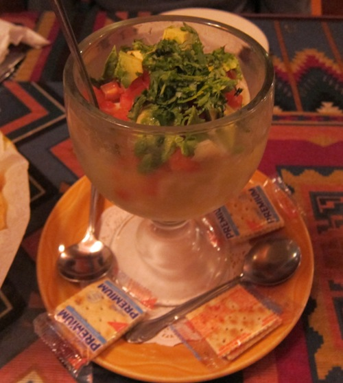 ceviche at las palmas