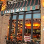 las palmas mexican restaurant in highland park - outside sign