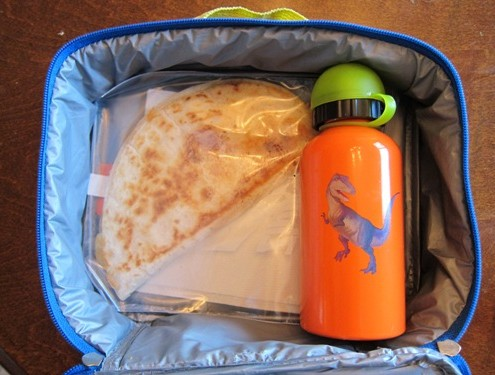 packing a lunchbox