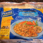 a package of frozen perdue chicken breast from costco