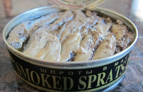 sprats in a can