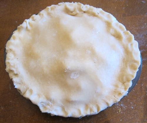 sealed apple pie