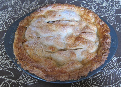 homemade american apple pie