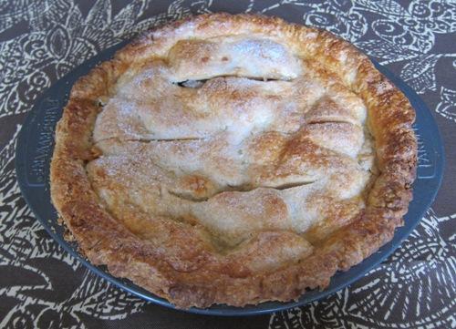 homemade american apple pie