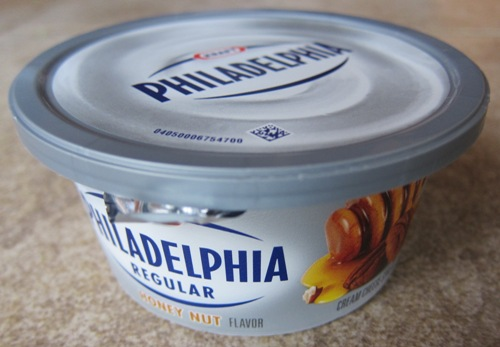 philadelphia cream cheese honey nut flavor