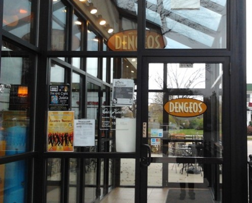 Dengeos Restaurant Entrance In Arlington Heights