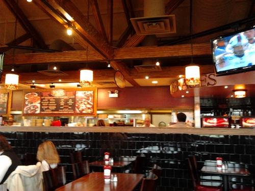 inside dengeos restaurant