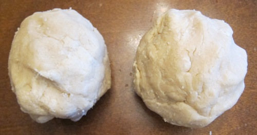 pie crust dough balls