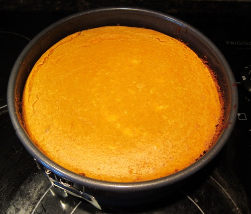 best pumpkin cheesecake freshly baked