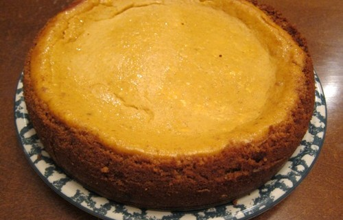 homemade pumpkin cheesecake recipe