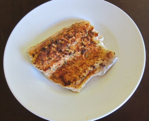 cajun whitefish fillet