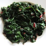 cooked collard greens