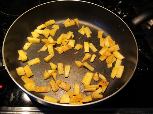 pan fried pineapple recipe