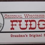 original wisconsin dells fudge in a package