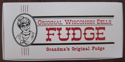 original wisconsin dells fudge in a package