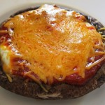 how to make portobello pizza