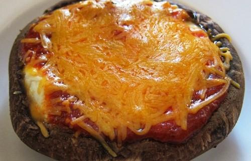 how to make portobello pizza