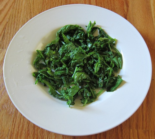 Sauteed Radish Greens Recipe