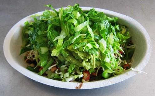 Chipotle veggie bowl picture