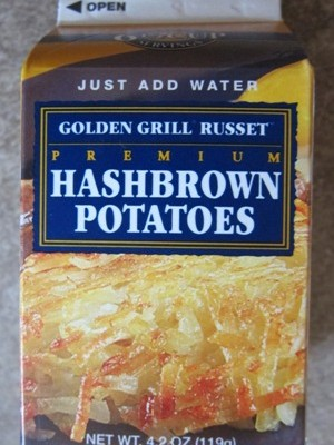 costco dehydrated dried hashbrowns package