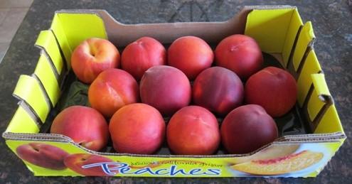 case of costco peaches