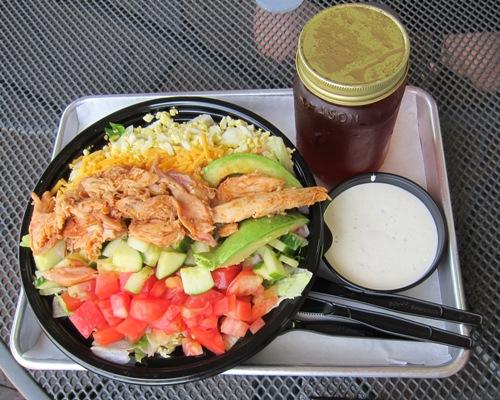 real urban bbq cobb salad